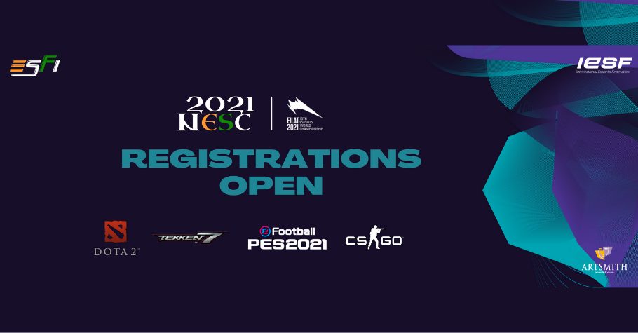 National Esports Championships 2021 To Kick Start On August 6