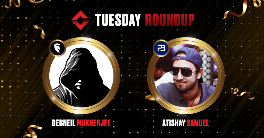 Tuesday Roundup: Debneil Mukherjee And Atishay Samuel Clinch Top Spots
