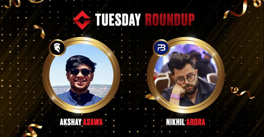 Tuesday Roundup: Akshay Asawa & Nikhil Arora Clinch Top Titles