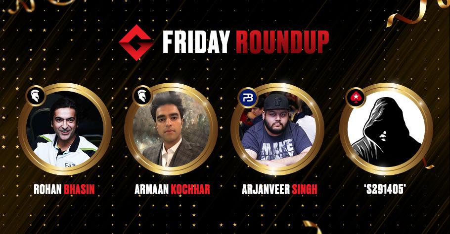 Friday Round Up: Kochhar, Chadha, Bhasin, Among The Night's Biggest Winners