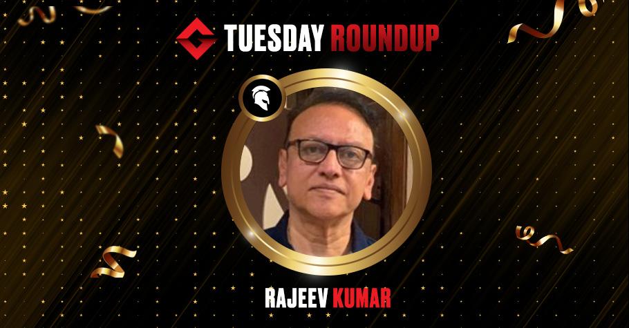 Tuesday Roundup: Rajeev Kumar Grabs Spartan Poker's Megastack Title For ₹3.4 Lakh