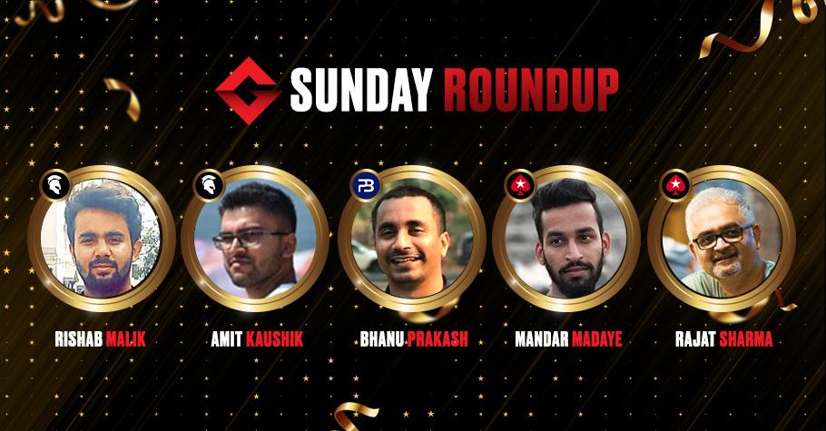 Sunday Roundup: Rishab Malik Clinches The Millionaire Title For An Impressive 13.62 Lakh