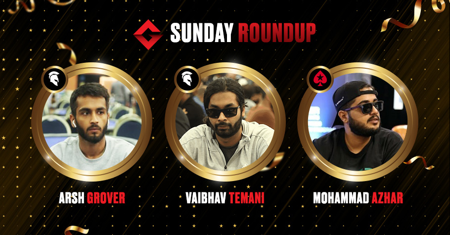 Sunday Roundup: Arsh Grover Wins The Millionaire For A Massive 17,13,218