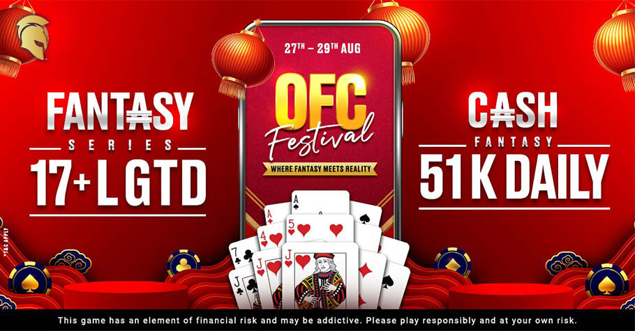 Win Up To ₹51K Daily In Spartan Poker's OFC Festival