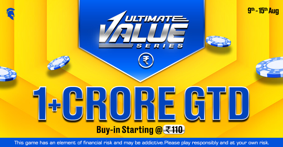 Ultimate Value Series: Spartan Poker Offers 1 Crore Guarantee & A Lot More