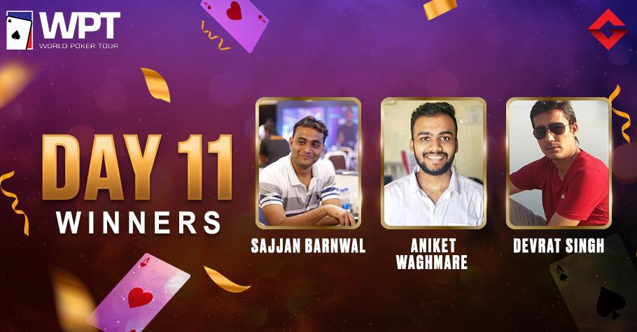 WPT Day 11: Sajjan Barnwal & Aniket Waghmare Win Big on Adda52