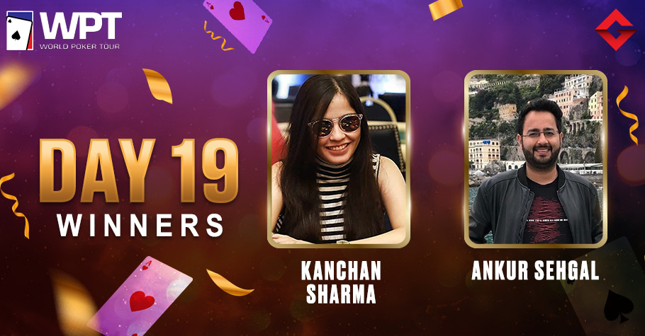 WPT Day 19: Kanchan Sharma & Ankur Sehgal Clinch Titles Amid Stiff Competition