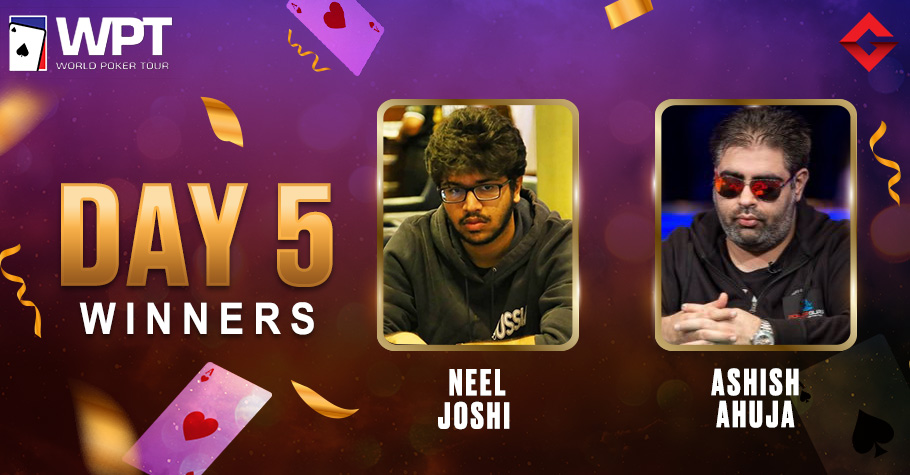 WPT Online 2021: Neel Joshi Nails WPT India Mini Highroller For 16 Lakh