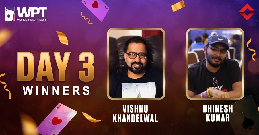 WPT Online 2021: Vishnu Khandelwal & Dhinesh Kumar Emerge Victorious