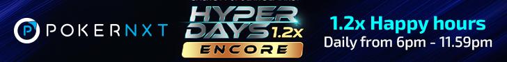 PokerNXT's Hyper Days Encore Assures Extended Winnings