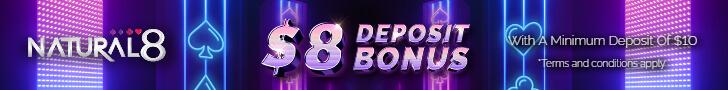 Natural8's Instant Deposit Bonus Will Boost Your Bankroll Like Never Before