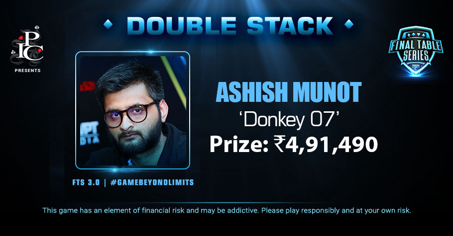 Ashish Munot Quickly Grabs The FTS 3.0 Double Stack Title For 4.91 Lakh