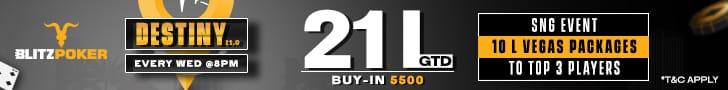 BLITZPOKER'S Destiny 21.0 Is A Rainfall Of Heavy-duty Prizes