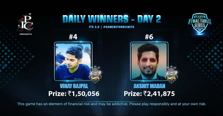 FTS 3.0 Day 2: Vinay Rajpal & Akshit Madan Tastes Victory After A Long Grind