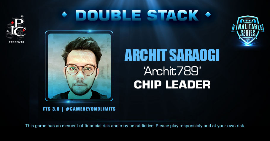 FTS 3.0: Double Stack Event Has Archit Saraogi As The Chip Lead