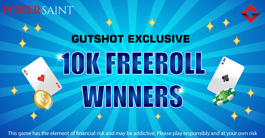 Pawan Gupta Nails Gutshot Exclusive 10K Freeroll On PokerSaint For ₹4,115
