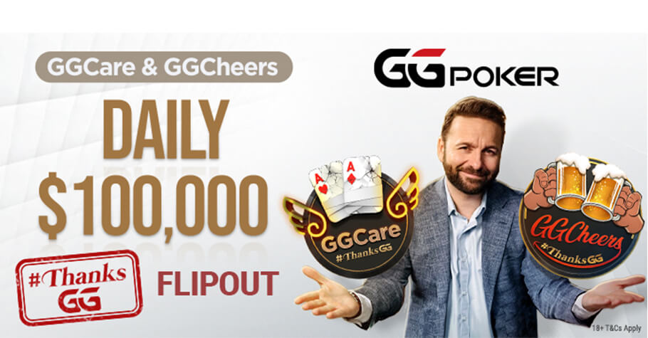 GGPoker's GGCheers Promotion Rewards Lucky Players With Ticket To Daily $100K #ThanksGG Freerolls