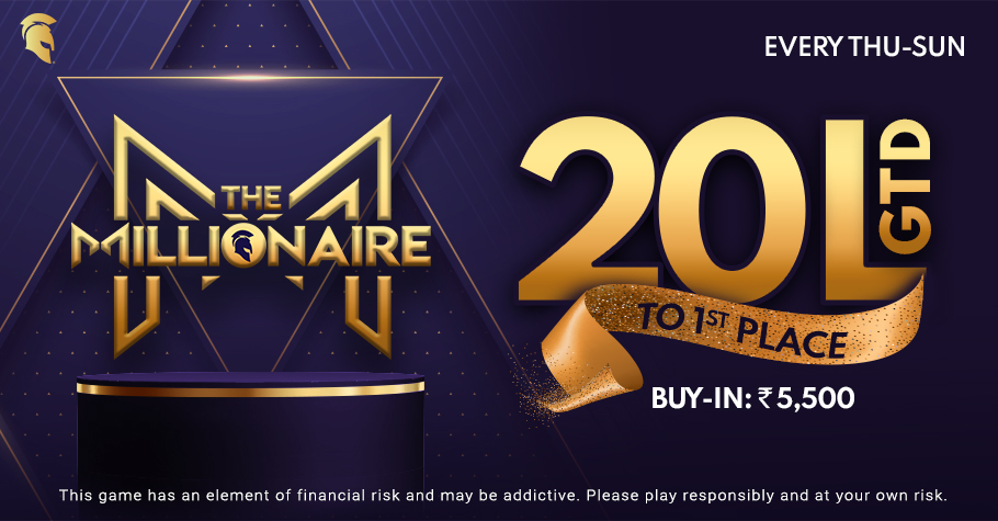 Spartan Poker's The Millionaire Event Is Back With A Bang