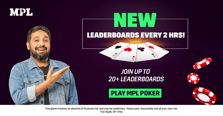 Get Ready To Thicken Your Bankroll With Not One Or Two But 20+ MPL Poker Leaderboards Daily