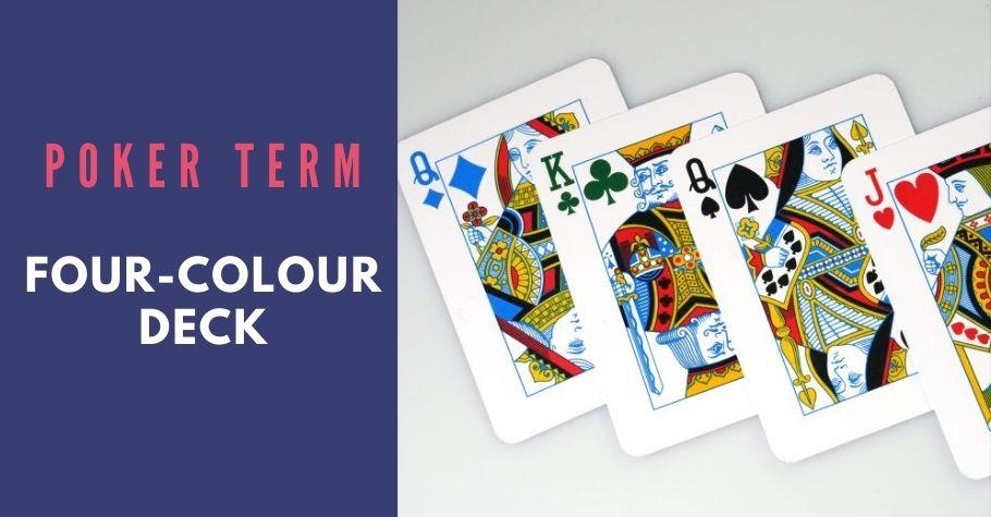 Poker Dictionary - Four - Colour Deck