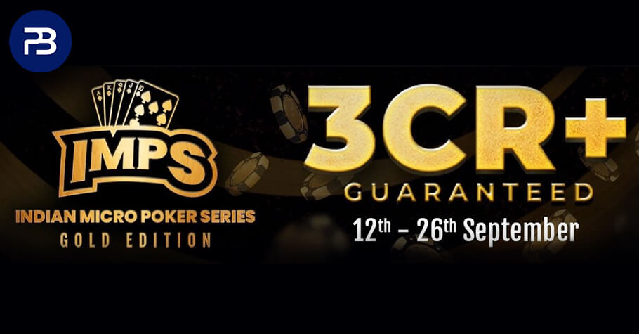 Witness The Glorious Indian Micro Series On PokerBaazi Between 12th - 26th September