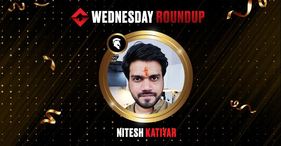 Wednesday Round Up: Nitesh Katiyar Grabs Destiny Title On Spartan Poker For 5.62 Lakh