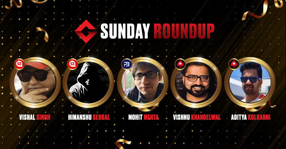Sunday Round Up: Mehta, Khandelwal And Kulkarni Among Others Grab Top Spots