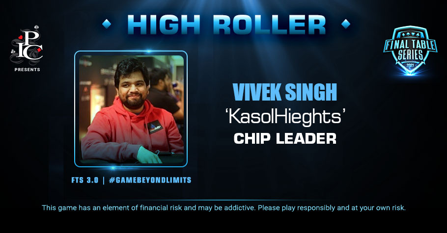 FTS 3.0 High Roller: Vivek Singh Leads The Pack On The FT