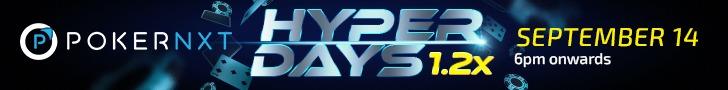 PokerNXT's Hyper Days Promotion Promises Hyper Earnings