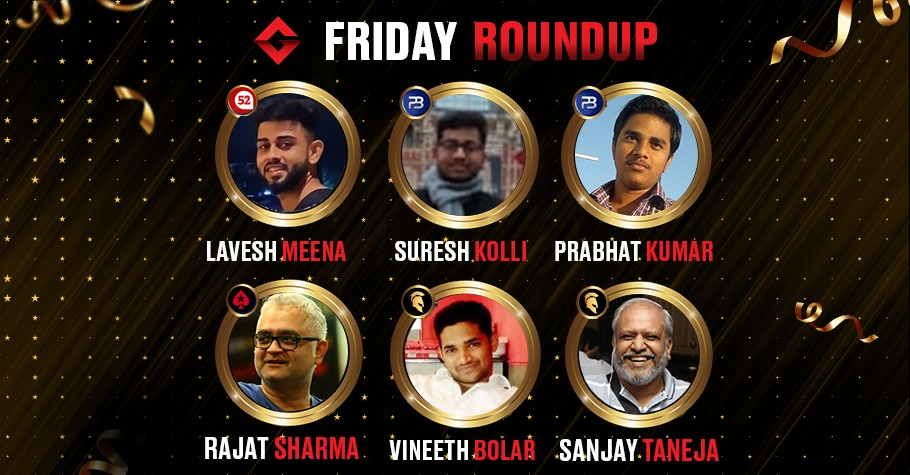Friday Round Up: Sanjay Taneja, Suresh Kolli, Rajat Sharma Among Others Emerge Victorious