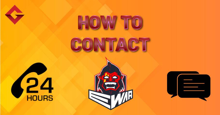 How To Contact Ewar Poker?