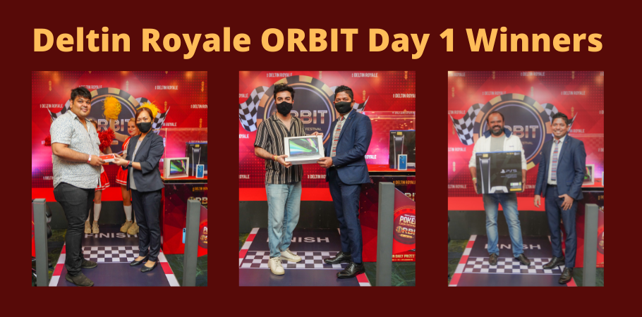 iPhone 13, PS5 And MacBook Won At Day 1 Of Deltin Royale's Cash Festival 'ORBIT'