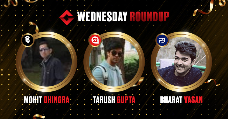 Wednesday Round Up: Mohit Dhingra Grabs His First Destiny Title!