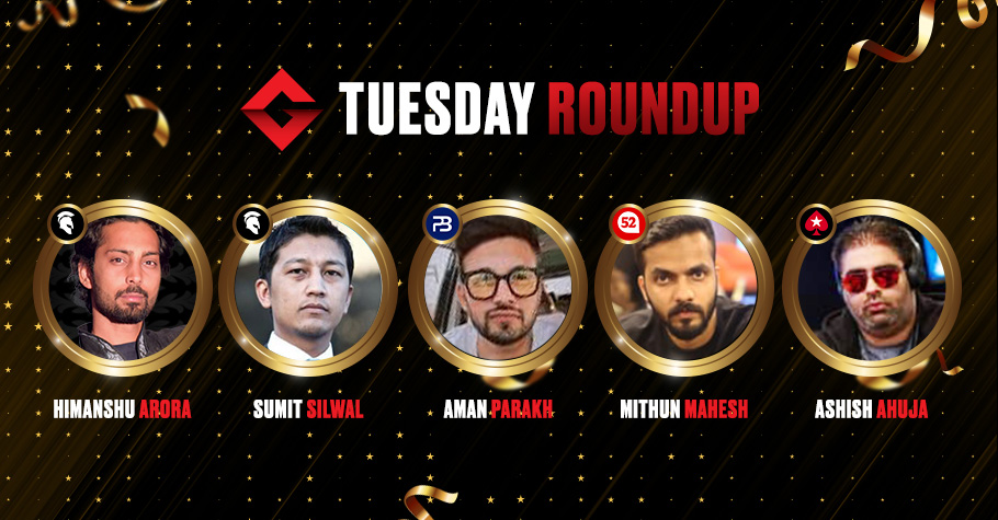 Tuesday Roundup: Aman Parakh Continues His Winning Spree