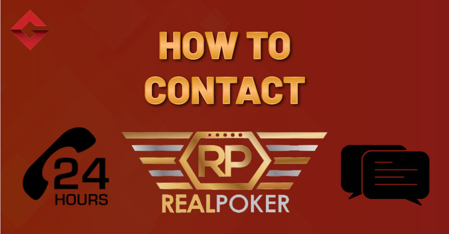 How To Contact RealPoker?
