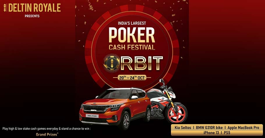 Deltin Announces India's Largest Poker Cash Festival - 'ORBIT'